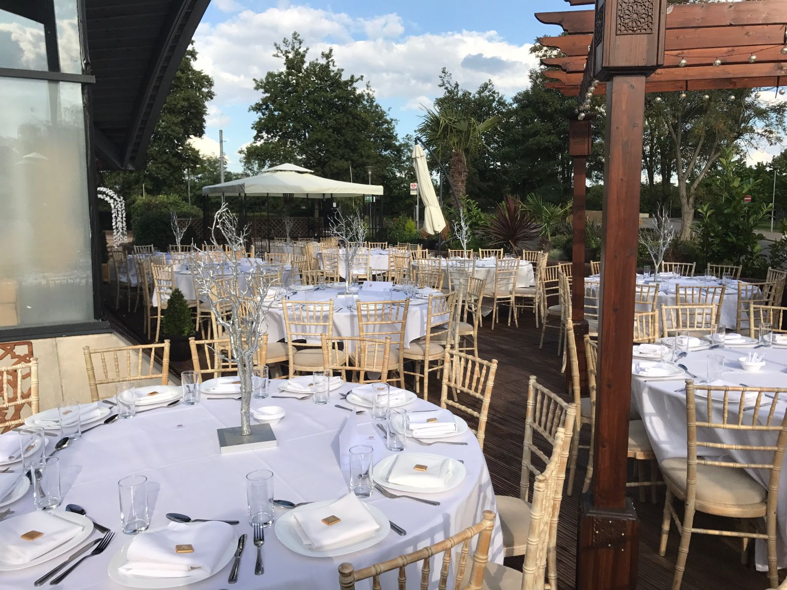 Wedding and Events Venue in North London with more car park spaces at no additional costs.